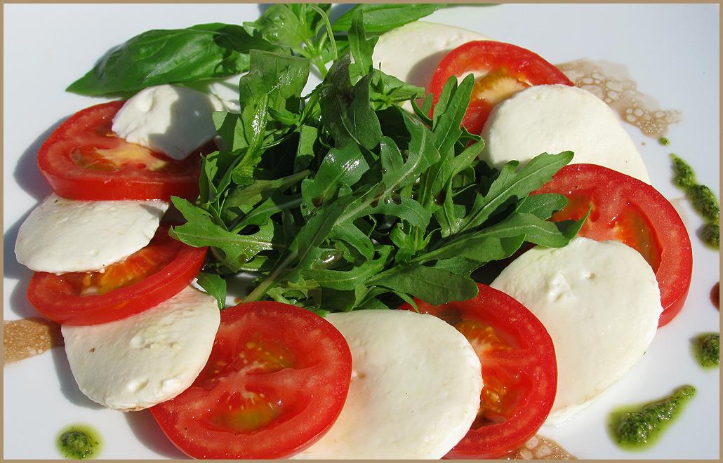 сыром моцарелла рецепты с