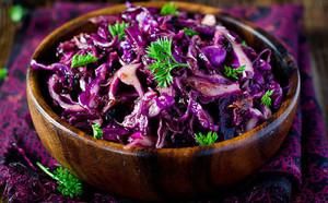 Рецепты приготовления блюд с фиолетовой капустой