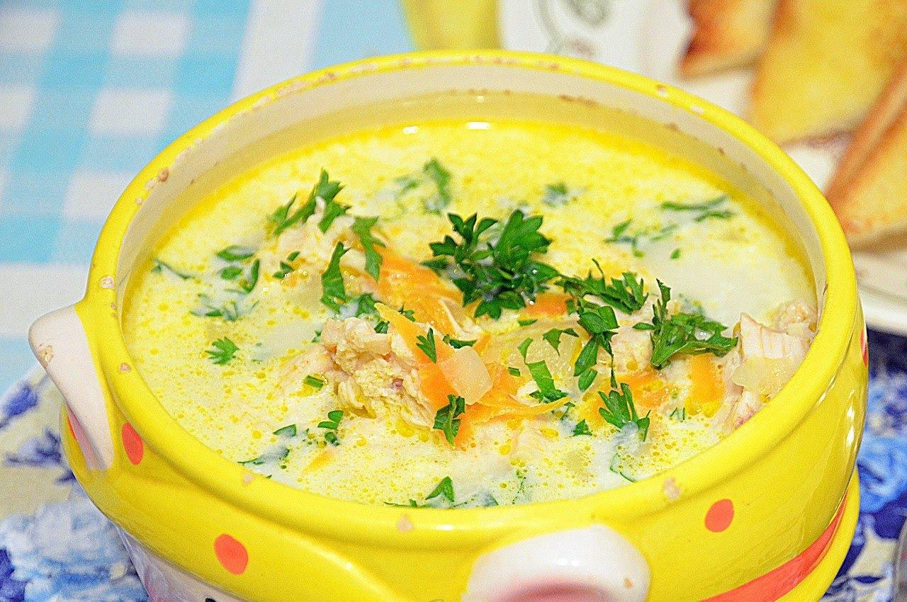 сырный суп рецепт с фото пошаговый