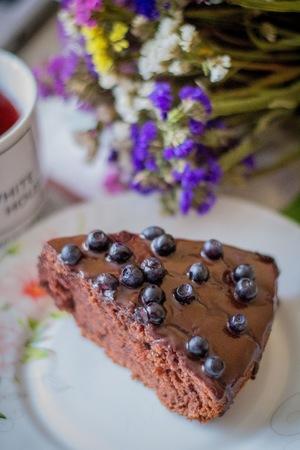 Торт шоколадный в домашних условиях