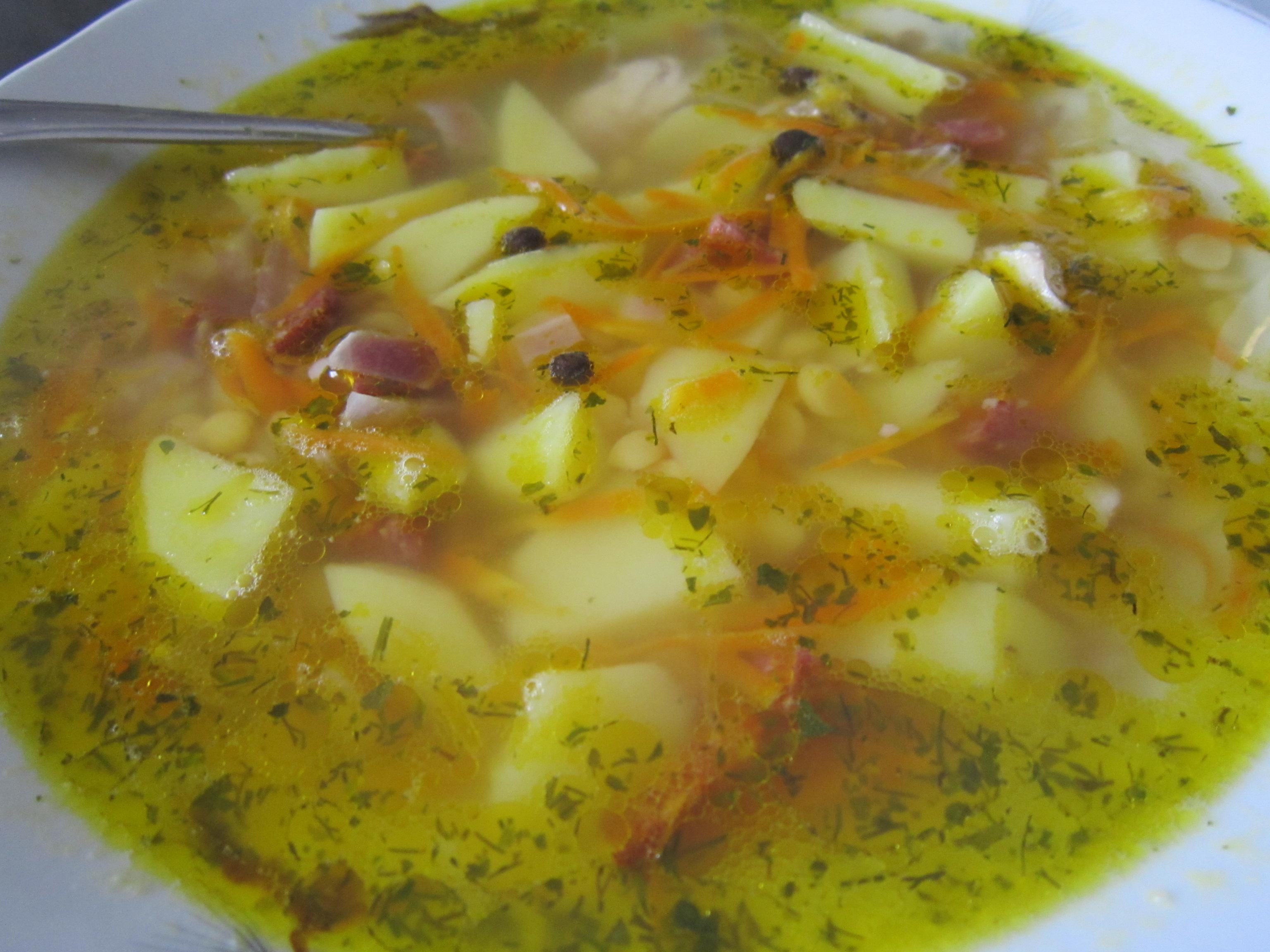 Приготовить суп в мультиварке гороховый с копченостями пошаговый рецепт