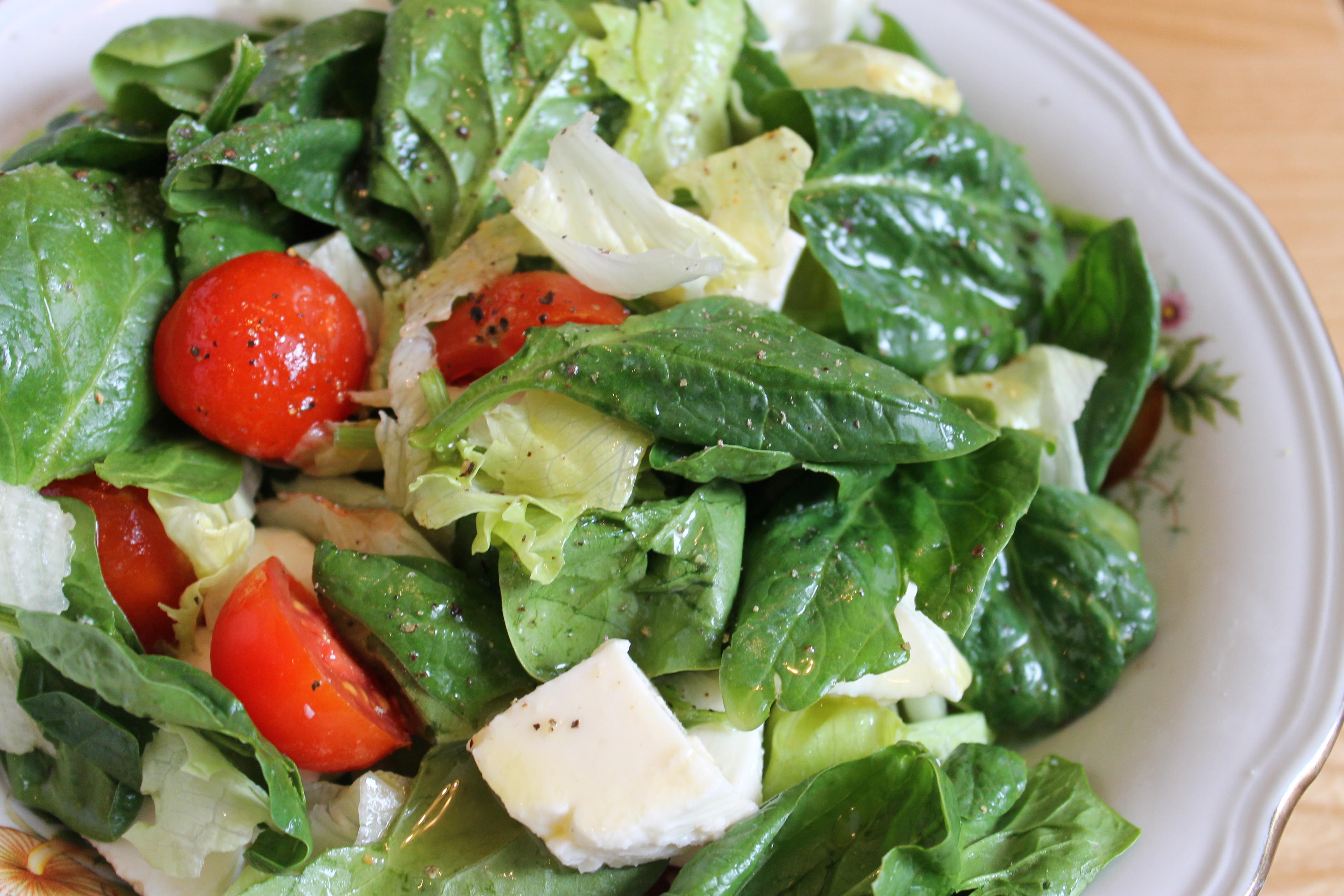 Салат с шпинатом рецепт пошагово